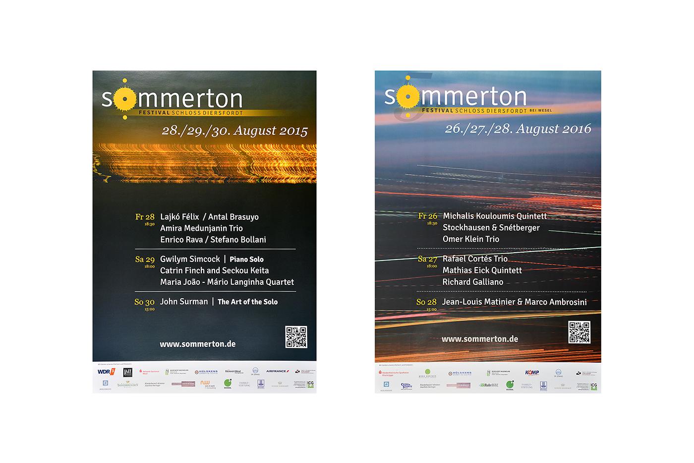 Plakate sommerton-Festival 2016